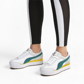 Thumbnail 2 of Roma Amor Heritage Women's Sneakers, Puma White-Teal Green, medium