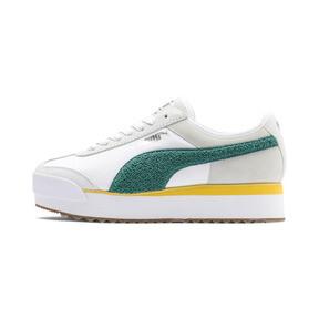 Thumbnail 1 of Roma Amor Heritage Women's Sneakers, Puma White-Teal Green, medium