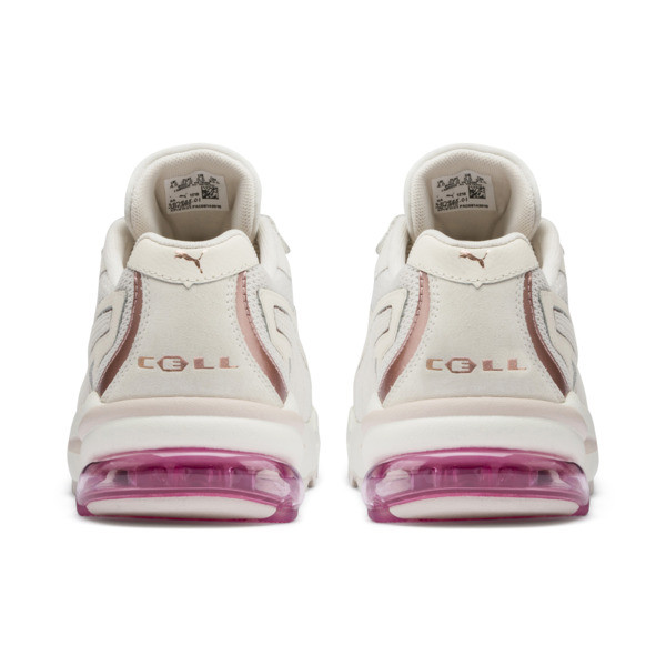 Zapatos deportivos CELL Stellar Soft para mujer, Pastel Parchment-Rose Gold, grande