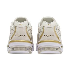 Miniatura 4 de Zapatos deportivos CELL Stellar Soft para mujer, Puma White-Puma Team Gold, mediano