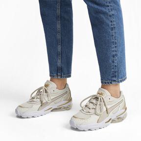 Miniatura 2 de Zapatos deportivos CELL Stellar Soft para mujer, Puma White-Puma Team Gold, mediano