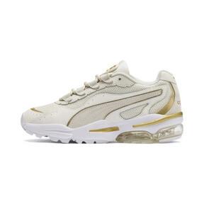 Miniatura 1 de Zapatos deportivos CELL Stellar Soft para mujer, Puma White-Puma Team Gold, mediano