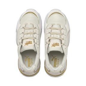 Miniatura 7 de Zapatos deportivos CELL Stellar Soft para mujer, Puma White-Puma Team Gold, mediano