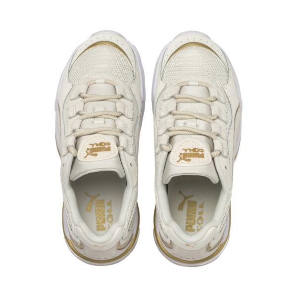 Zapatos deportivos CELL Stellar Soft para mujer, Puma White-Puma Team Gold, grande