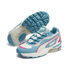Thumbnail 3 of CELL Stellar Women's Trainers, Milky Blue-Puma Team Gold, medium