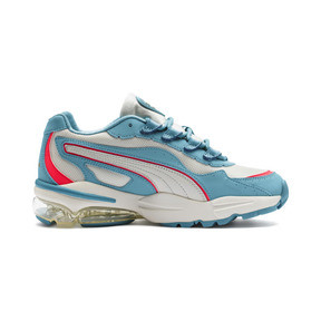 Thumbnail 6 of CELL Stellar Women's Trainers, Milky Blue-Puma Team Gold, medium