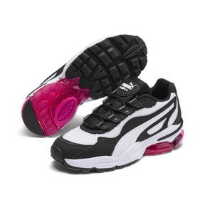Thumbnail 2 of CELL Stellar Women's Trainers, Puma White-Puma Black, medium