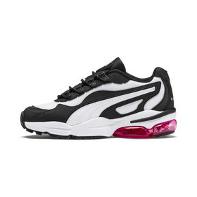 Thumbnail 1 of CELL Stellar Women's Trainers, Puma White-Puma Black, medium