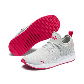 Miniatura 2 de Zapatos deportivosPacer Next Cage Metallic JR, Gray Violet-Nrgy Rose, mediano