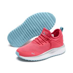 Miniatura 2 de Zapatos Pacer Next Cage Metallic para niño pequeño, Calypso Coral-Milky Blue, mediano