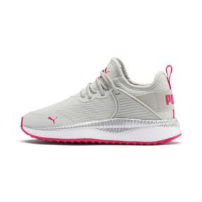 Miniatura 1 de Zapatos Pacer Next Cage Metallic para niño pequeño, Gray Violet-Nrgy Rose, mediano