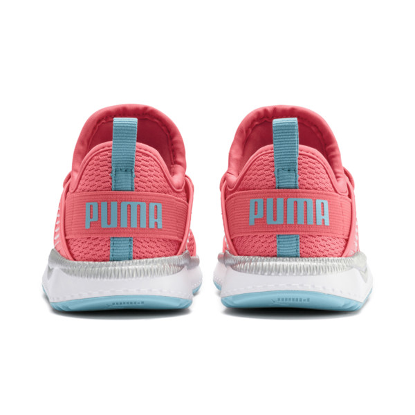 Pacer Next Cage Metallic Toddler Shoes, Calypso Coral-Milky Blue, large