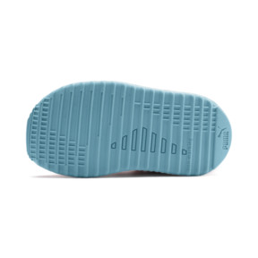 Thumbnail 4 of Pacer Next Cage Metallic Toddler Shoes, Calypso Coral-Milky Blue, medium