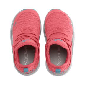 Thumbnail 6 of Pacer Next Cage Metallic Toddler Shoes, Calypso Coral-Milky Blue, medium
