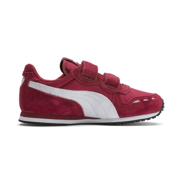 Zapatos Cabana Racer para niño pequeño, Rhubarb-Puma White, grande
