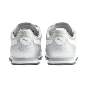 Thumbnail 3 of Cabana Racer Glitz AC Shoes PS, Puma Silver-Puma White, medium