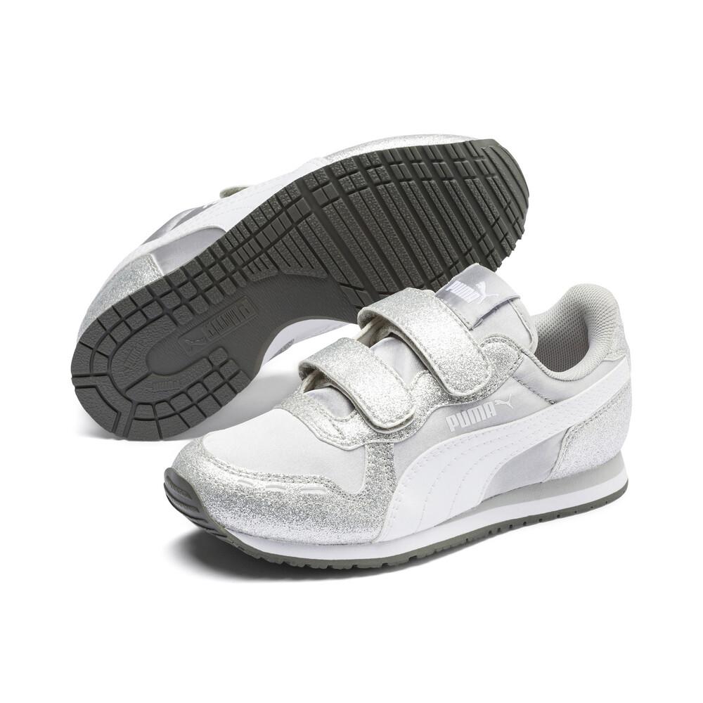 Image PUMA Cabana Racer Glitz V Kids' Sneakers #2