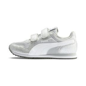 Thumbnail 1 of Cabana Racer Glitz AC Shoes PS, Puma Silver-Puma White, medium
