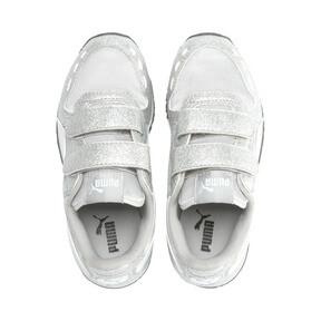 Thumbnail 6 of Cabana Racer Glitz AC Shoes PS, Puma Silver-Puma White, medium