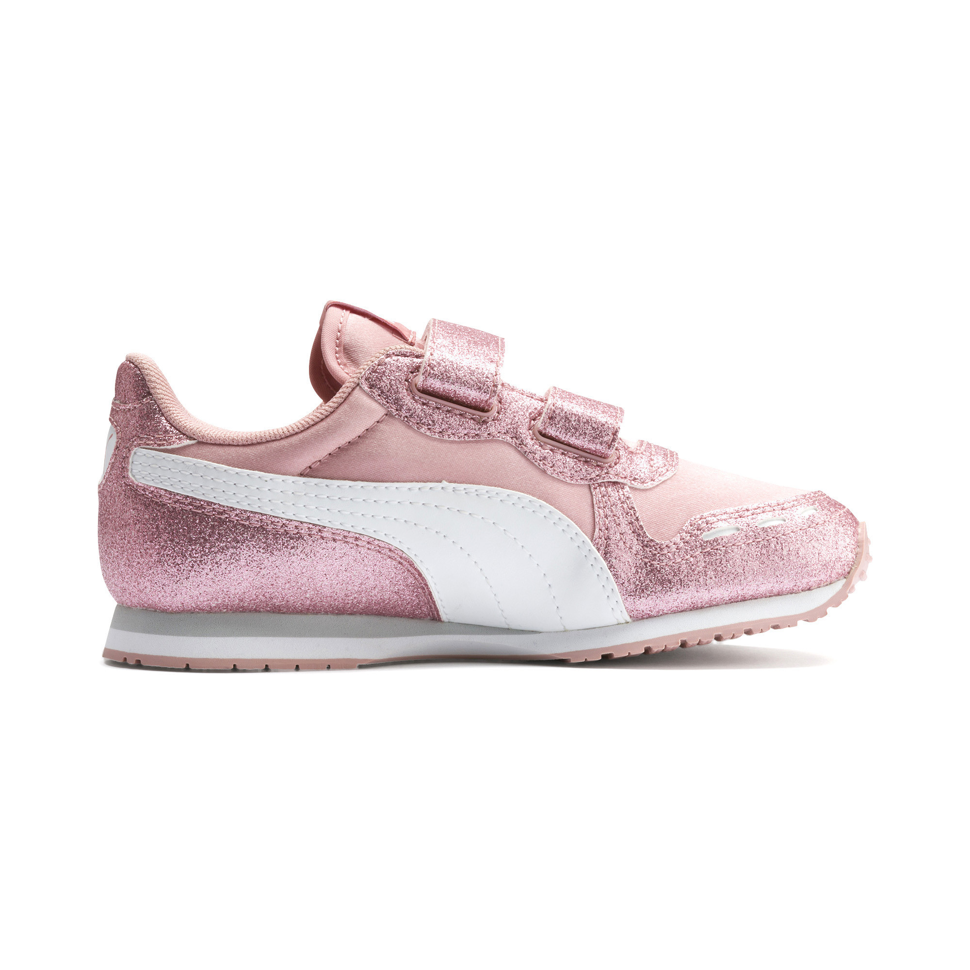 Details about PUMA Cabana Racer Glitz AC Shoes PS Girls Shoe Kids