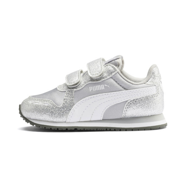 newest ed3d4 050bf Cabana Racer Glitz AC Shoes INF, Puma Silver-Puma White, large