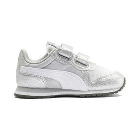 Thumbnail 5 of Cabana Racer Glitz AC Shoes INF, Puma Silver-Puma White, medium