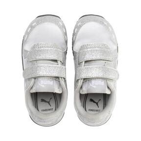Thumbnail 6 of Cabana Racer Glitz AC Shoes INF, Puma Silver-Puma White, medium