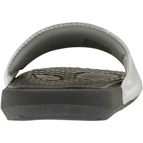 Thumbnail 3 of Cool Cat Metallic Women's Slides, Puma Black-Puma Silver, medium