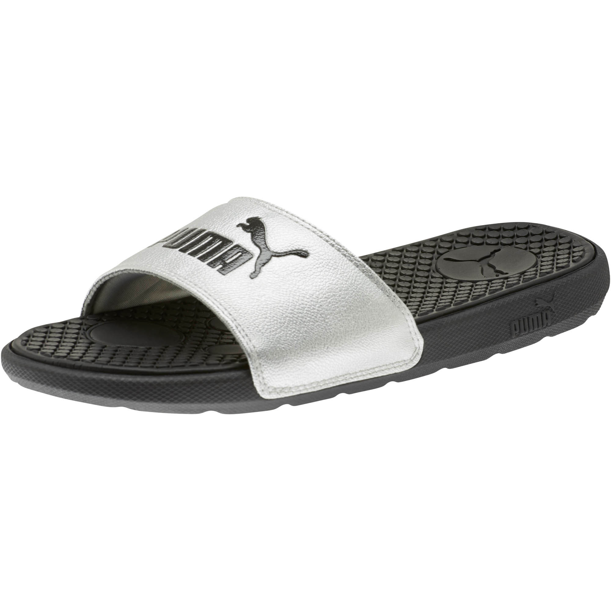 PUMA-Cool-Cat-Metallic-Women-s-Slides-Women-Sandal-Swimming-Beach thumbnail 9
