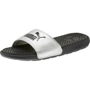 Sandales métallisées Cool Cat, femme