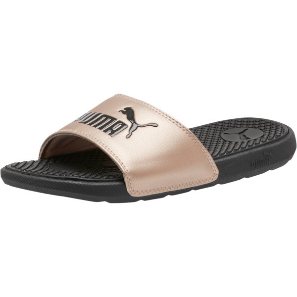 Cool Cat Metallic Slides JR