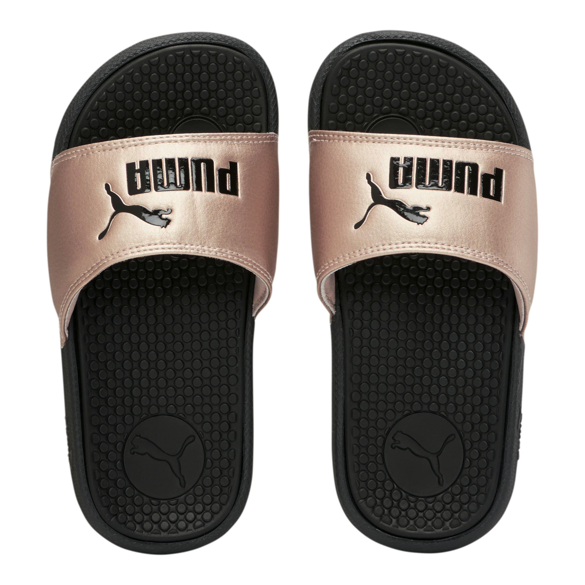 PUMA-Pre-School-Cool-Cat-Metallic-Little-Slides thumbnail 7