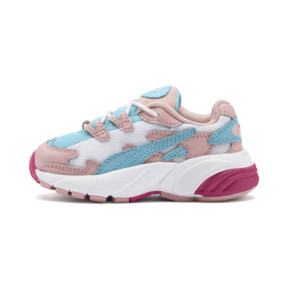Thumbnail 1 of CELL Alien Cosmic Babies' Trainers, Bridal Rose-Milky Blue, medium