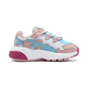 Thumbnail 5 of CELL Alien Cosmic Babies' Trainers, Bridal Rose-Milky Blue, medium