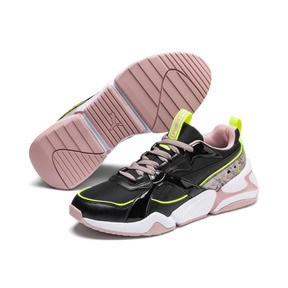 Thumbnail 3 of Nova 2 Shift Women's Trainers, Puma Black-Bridal Rose, medium