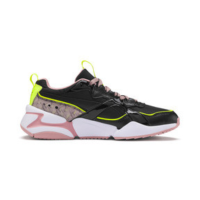 Thumbnail 6 of Nova 2 Shift Damen Sneaker, Puma Black-Bridal Rose, medium