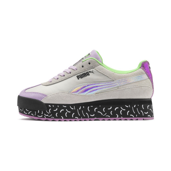 Roma Amor Dimension Damen Sneaker, Agate Gray-Smoky Grape, large
