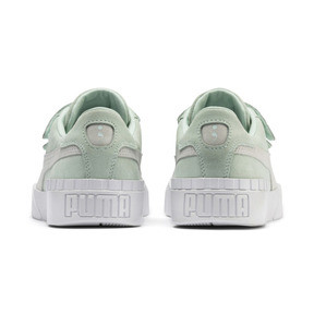 Thumbnail 4 of PUMA x SELENA GOMEZ Cali Patent Women's Trainers, Fair Aqua-Puma White, medium