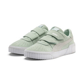 Thumbnail 3 of SG x Cali Suede Women's Sneakers, Fair Aqua-Puma White, medium