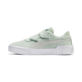 Thumbnail 1 of PUMA x SELENA GOMEZ Cali Patent Women's Trainers, Fair Aqua-Puma White, medium