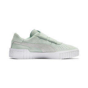 Thumbnail 6 of SG x Cali Suede Women's Sneakers, Fair Aqua-Puma White, medium
