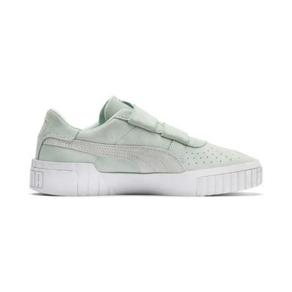 SG x Cali Suede Women's Sneakers, Fair Aqua-Puma White, large