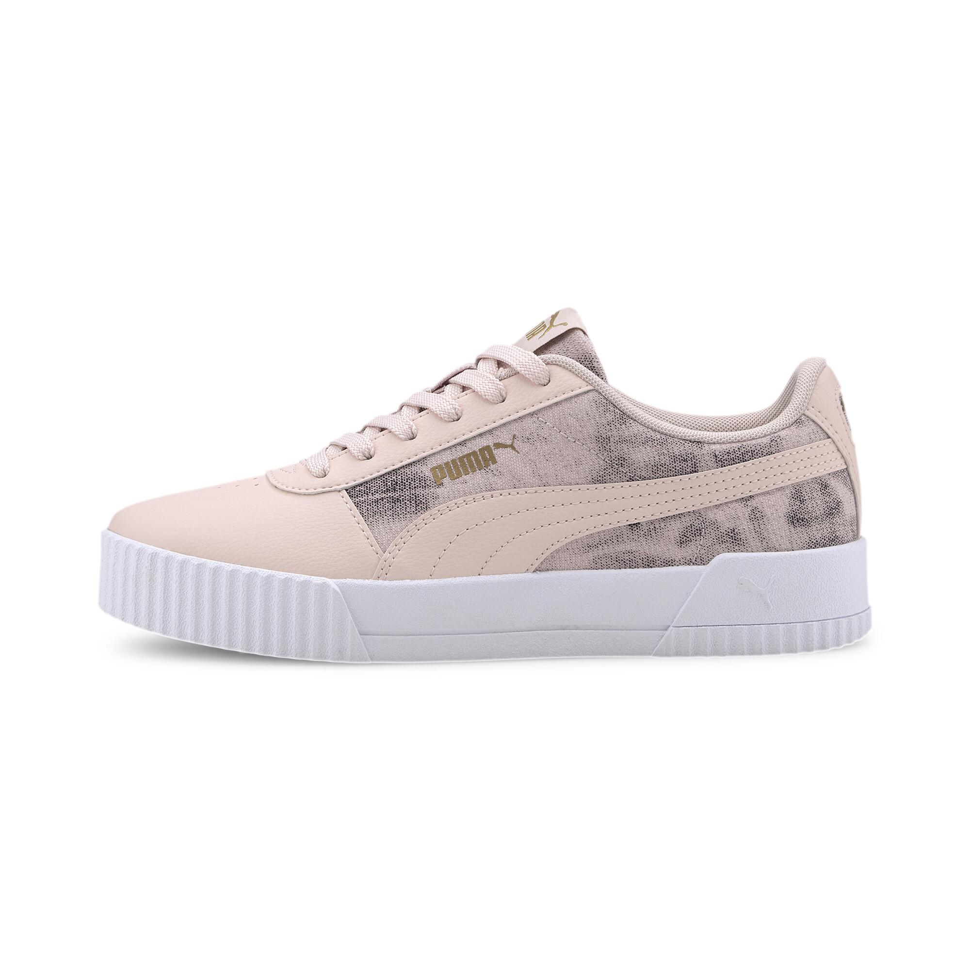PUMA-Women-039-s-Carina-Tie-Dye-Sneakers thumbnail 4