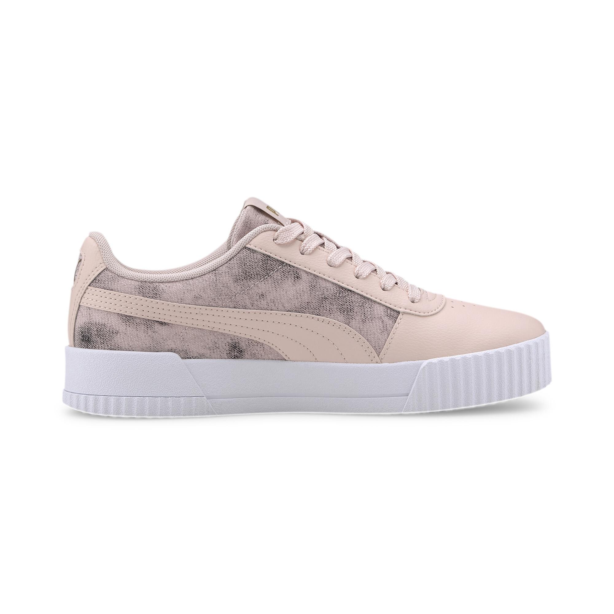 PUMA-Women-039-s-Carina-Tie-Dye-Sneakers thumbnail 7