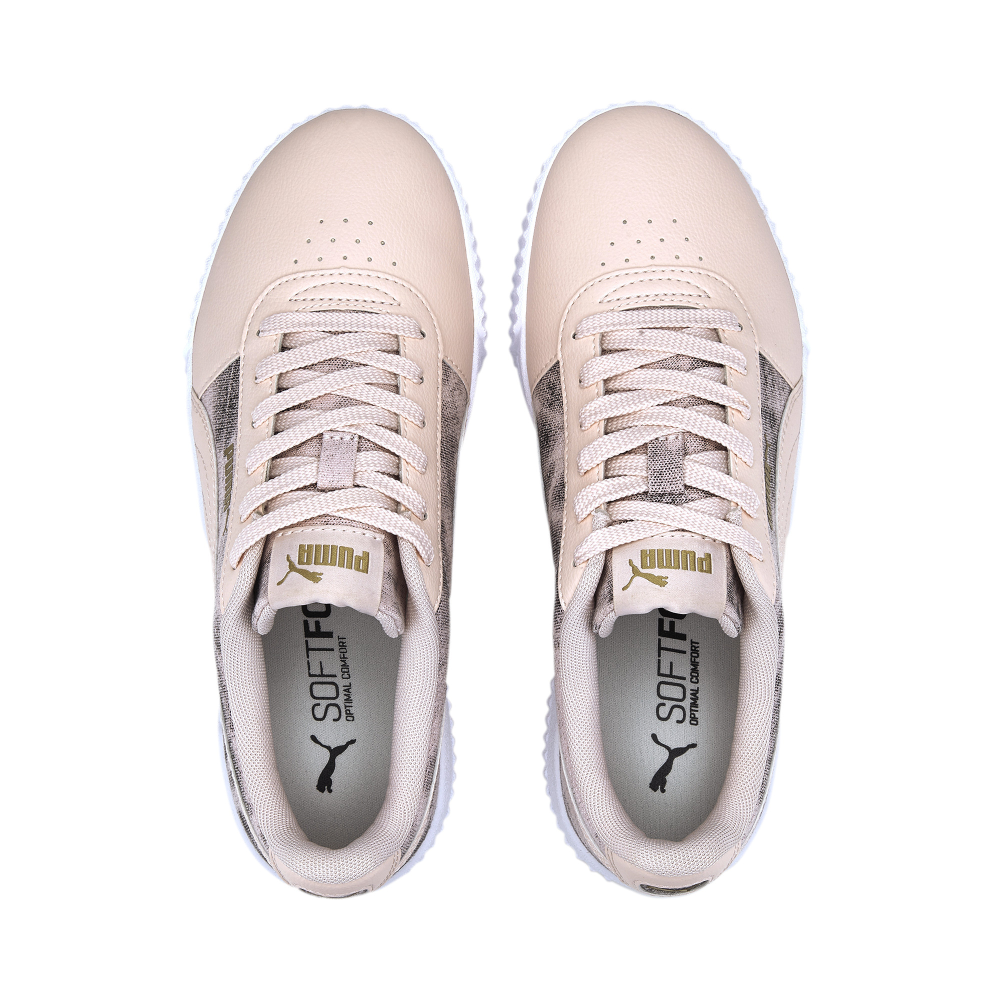 PUMA-Women-039-s-Carina-Tie-Dye-Sneakers thumbnail 8
