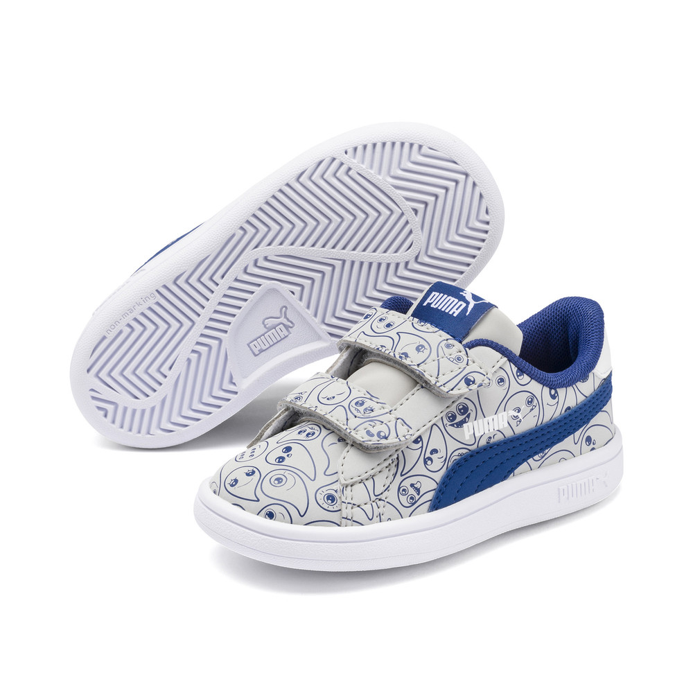 Image PUMA Smash V2 Monster Family Babies' Sneakers #2