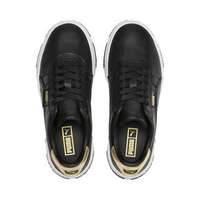 Thumbnail 6 of Cali Bold Metallic Damen Sneaker, Puma Black-Gold, medium