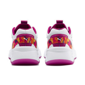 Thumbnail 3 of Nova x Barbie Flash Women's Trainers, Puma White-CABARET, medium