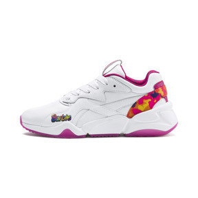 Thumbnail 1 of Nova x Barbie Flash Women's Trainers, Puma White-CABARET, medium
