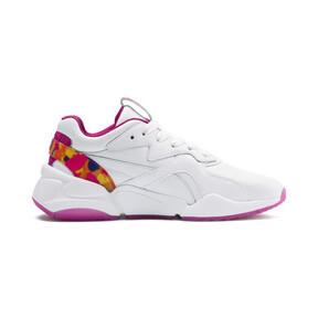 Thumbnail 5 of Nova x Barbie Flash Women's Sneakers, Puma White-CABARET, medium